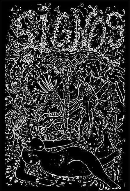 Cubierta del número 67 de la revista Signos. Dibujo de Samuel Feijoo