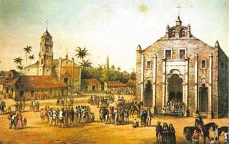 Ciudad de San Juan de los  Remedios en Cuba.
