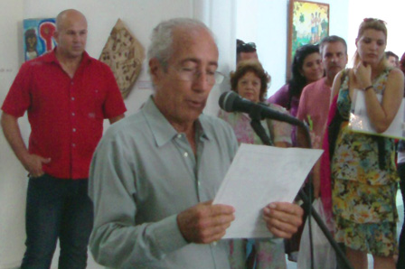 Arnaldo Toledo, director de la revista Signos.