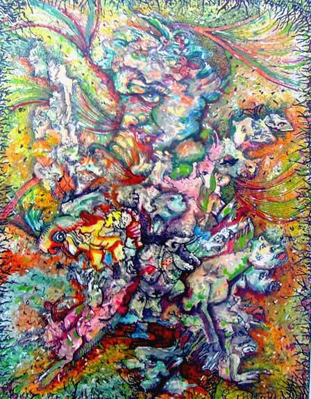 Energía, obra de Aida Ida Morales.