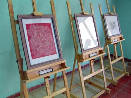 "Exposición ""Ensoñaciones"", con obras de Sandra Caballero."